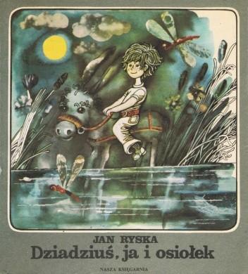 Okładka książki Dziadziuś, osiołek i ja