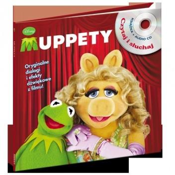 Okładka książki Muppety