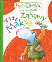 Okładka książki Zabawy Maksa