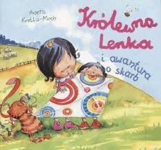 Okładka książki Królewna Lenka i awantura o skarb