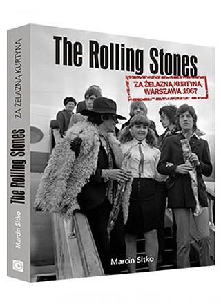 Okładka książki The Rolling Stones za żelazną kurtyną. Warszawa 1967