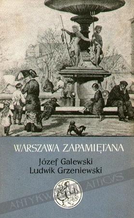 Okładka książki Warszawa zapamiętana