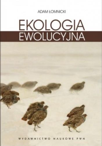 Okładka książki Ekologia ewolucyjna