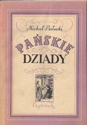 Okładka książki Pańskie dziady