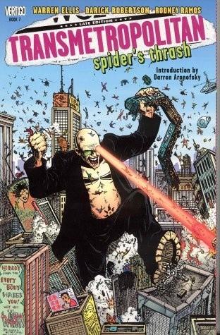 Okładka książki Transmetropolitan, Vol. 7: Spider's Thrash