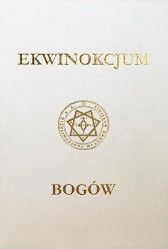 Okładka książki Ekwinokcjum Bogów