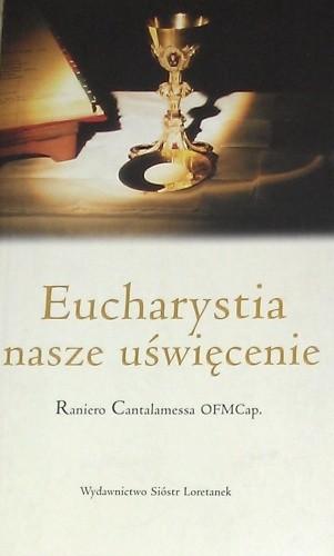 Okładka książki Eucharystia nasze uświęcenie