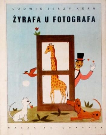 Okładka książki Żyrafa u fotografa