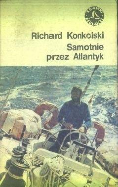 Okładka książki Samotnie przez Atlantyk