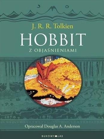 Okładka książki Hobbit z objaśnieniami