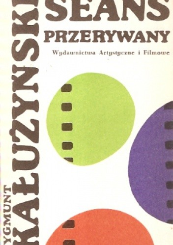 Okładka książki Seans przerywany