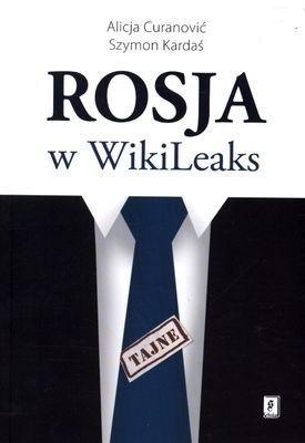 Okładka książki Rosja w WikiLeaks