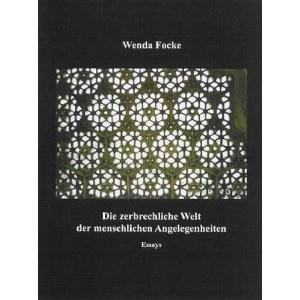 Okładka książki Die zerbrechliche Welt der menschlichen Angelegenheiten