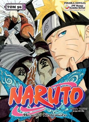 Okładka książki Naruto tom 56 - Ponowne Spotkanie Drużyny Asumy