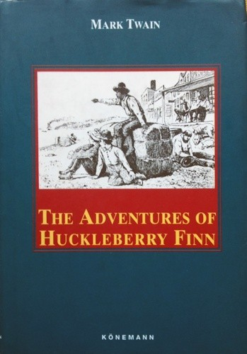 Okładka książki The Adventures of Huckleberry Finn