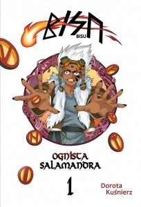 Okładka książki Bisu - ognista salamandra