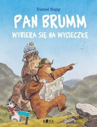 Pan Brumm wybiera się na wycieczkę - Daniel Napp
