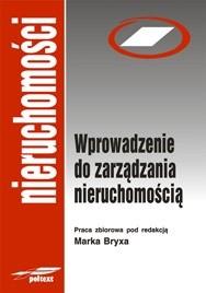 Okładka książki Wprowadzenie do zarządzania nieruchomością