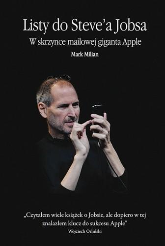 Okładka książki Listy do Steve'a Jobsa. W skrzynce mailowej giganta Apple