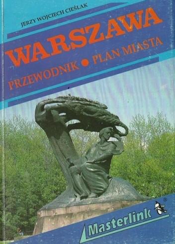 Okładka książki Warszawa. Przewodnik, plan miasta