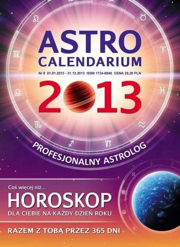 Okładka książki Astrocalendarium 2013