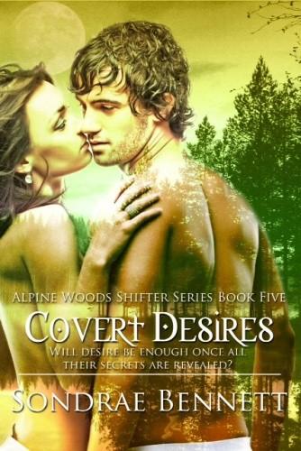 Okładka książki Covert Desires