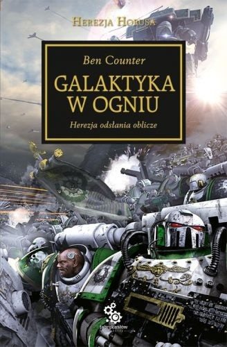 Okładka książki Galaktyka w ogniu