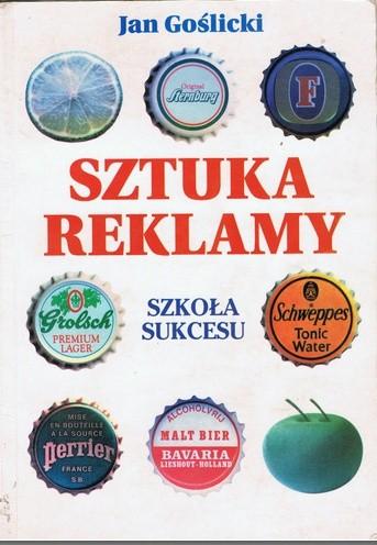 Okładka książki Sztuka reklamy