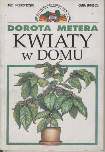 Okładka książki Kwiaty w domu