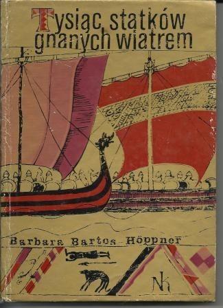 Okładka książki Tysiąc statków gnanych wiatrem