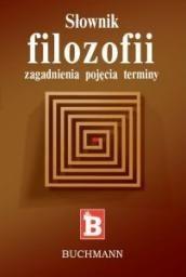 Okładka książki Słownik filozofii
