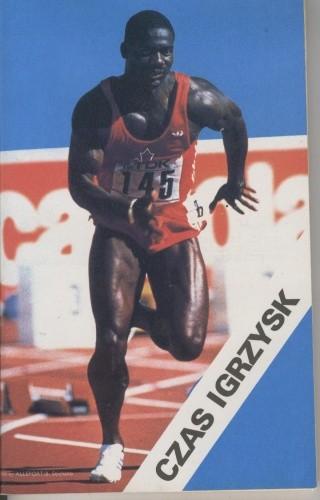 Okładka książki Czas igrzysk