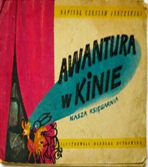 Okładka książki Awantura w kinie