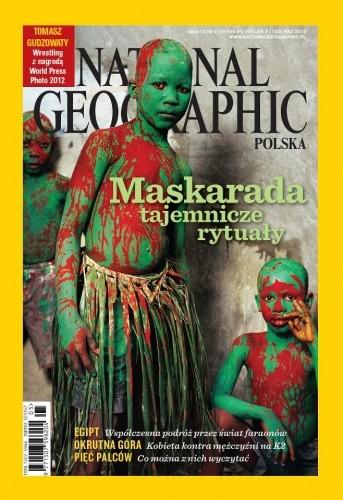 Okładka książki National Geographic 05/2012 (152)