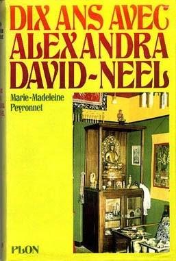 Okładka książki Dix ans avec Alexandra David-Néel