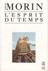 Okładka książki L'esprit du temps