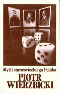 Okładka książki Myśli staroświeckiego Polaka