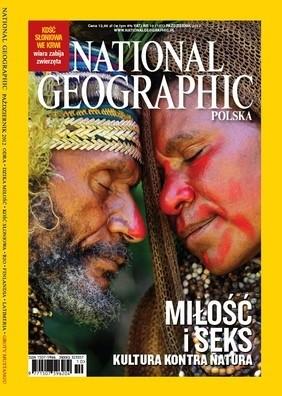 Okładka książki National Geographic 10/2012 (157)
