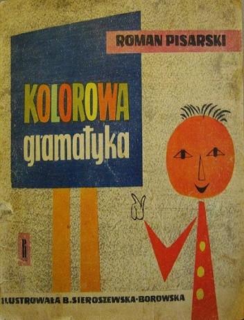 Okładka książki Kolorowa gramatyka