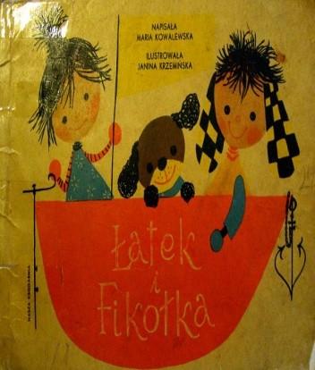 Okładka książki Łatek i Fikołka