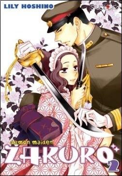 Okładka książki Demon Maiden Zakuro t.2