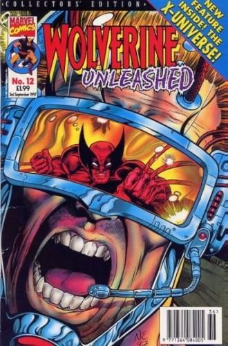 Okładka książki Wolverine Unleashed #12