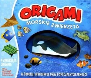Okładka książki Origami. Morskie zwierzęta