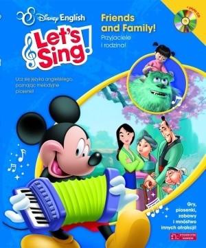 Okładka książki Let's Sing! Friends and Family!