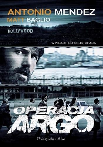 Okładka książki Operacja Argo
