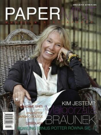 Okładka książki PAPERmint, nr 10 (14) / październik 2012