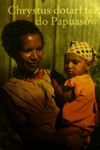 Okładka książki Chrystus dotarł też do Papuasów