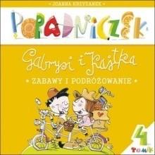 Okładka książki Poradniczek Gabrysi i Kajtka. Zabawy i podróżowanie