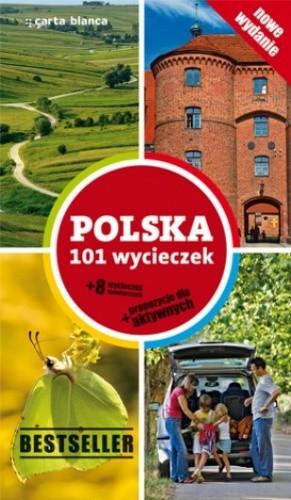 Okładka książki Polska 101 wycieczek