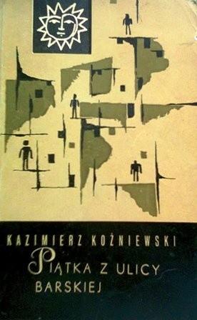 Okładka książki Piątka z ulicy Barskiej